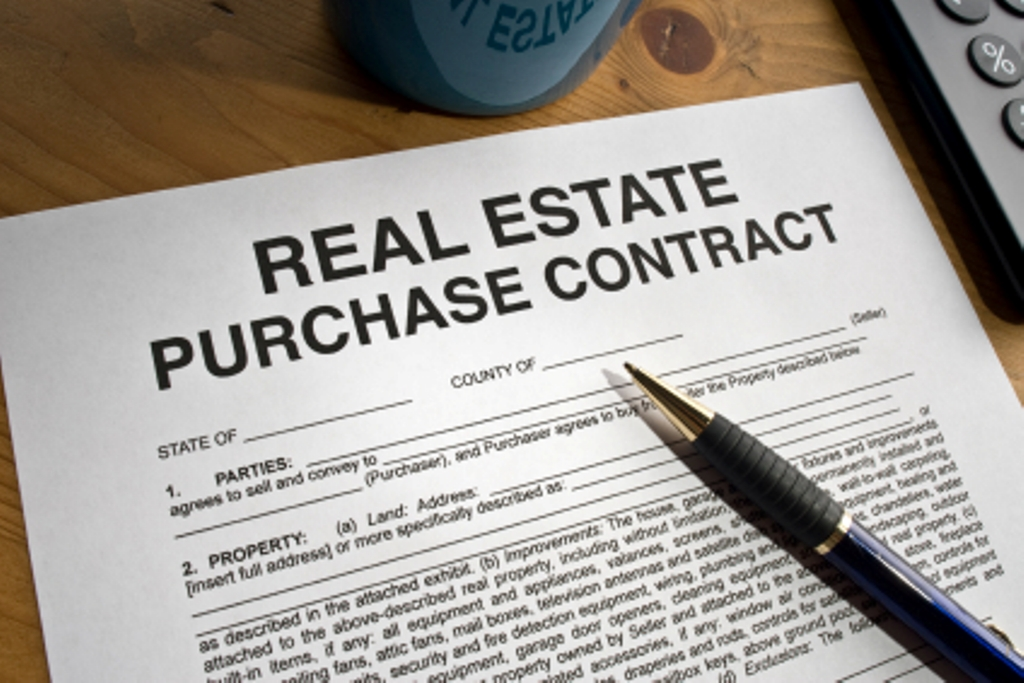Contract For The Purchase & Sale Of Real Estate – Vestor Real Estate